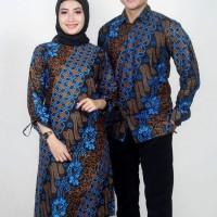 Batik Couple Seno kawung - Atasan Wanita & Kemeja Pria