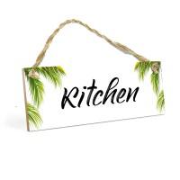 HomeDecor Dapur KITCHEN MDF 10x30cm Dekorasi Hiasan Rumah Ruang Makan