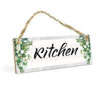 Home Decor Dapur KITCHEN MDF 10x30cm Dekorasi Rumah Ruang Makan