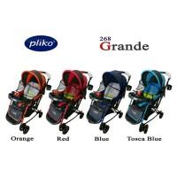 Stroller Bayi Pliko Grande 268 Kereta Dorong Bayi Pliko Grande New