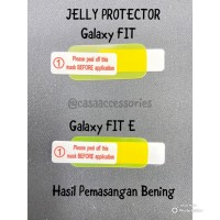 CASA Protector Jelly for Samsung Galaxy Fit & Fit E / Hydrogel Samsung