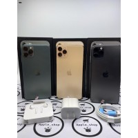 iphone 11 pro max 256gb second fullset mulus terawat - Silver