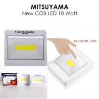 Lampu Tempel Magnet Emergency / Switch Light Mitsuyama COB LED 10watt