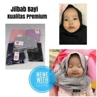 Jilbab Bayi Anak Kerudung Bayi Hijab Bayi Kualitas Premium - Ungu