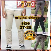 Celana Panjang Reguler Chino/Cino/Chinos Pria/Cowok Standar