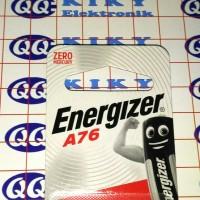 energizer LR44 / A76 ECERAN / baterai kancing AG13 / LR 44 satuan