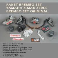 Paket Brembo Set Yamaha XMAX 250 Disc Standar Brembo Medium Set