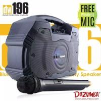Dazumba DW196 Karaoke Speaker Bluetooth Portable