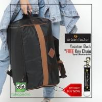 Tas Travel Backpack URBAN FACTOR series Vacation Black