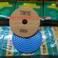 polishing pad #2000 - diamond pad poles marmer - pad poles granite