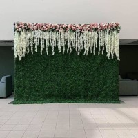 sewa dekorasi backdrop photobooth wall flower size 2,2 meter