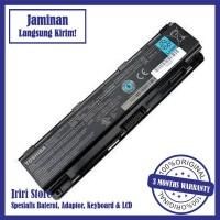 BATERAI LAPTOP TOSHIBA C40 C40-A C50 C50D C55 PA5109 BLACK ORIGINAL