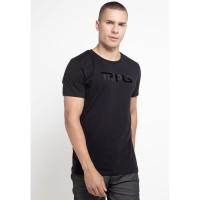 TRIPLE Kaos (YTS 74 BLK) Slim Fit