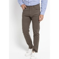 TRIPLE Celana Panjang Slim Fit (304 828 DBR) - Dark Brown