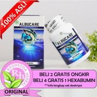 Albucare Original 100% Ekstrak Ikan Gabus Walatra Albumin Kapsul Asli