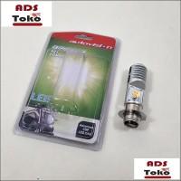 lampu Bohlam LED Combo Bebek Matic Motor Autovision Dua WarnaSocket H6