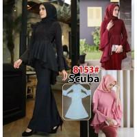 DISKON CUCI GUDANG dress muslim/muslim fashion 8153#