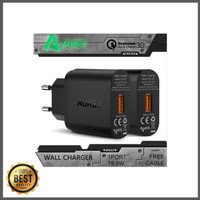TERLARIS AUKEY USB Charger with Qualcomm Quick Charge 3 0 PA T9