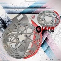 Piringan Disk Rem Cakram Set Satria FU 150 Depan Belakang - Wilwood