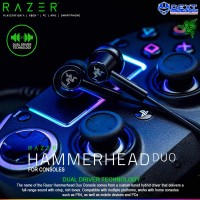 Razer Hammerhead Duo Console Limited Edition Wired In-Ear Headphones
