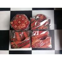 Tatakan Gelas - Coaster Kayu Batik