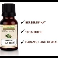 KUALITAS NOMER SATU HAPPY GREEN TEA TREE ESSENTIAL OIL (30 ML) -