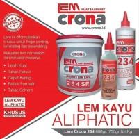 Terpopuler ! Lem Kayu Crona 234 Solvent Resistant 4Kg 5758