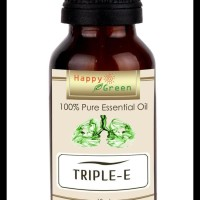 TERHANGAT HAPPY GREEN TRIPLE E ESSENTIAL OIL (10 ML) - MINYAK PELEGA