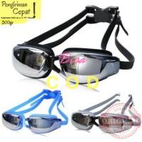 Original Ruihe rh9200 Kacamata renang dewasa anti embun UV protection