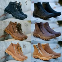 Boots Safety Pria Sepatu Outdoor Ujung Besi Grosir Santai Casual For