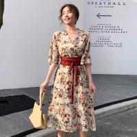 Kimono Flora Maxi Dress 31180 3M