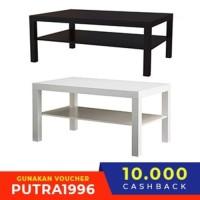 LACK Meja untuk TV uk 90x26x45 cm, pilihan warna putih/hitam BB