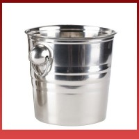 Fs Stainless Steel Ices Bucket Cool Durable for Champagne Wine