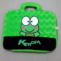 "Tas Laptop Bulu Note book Notebook 14 "" 12 in Inch Keropi"