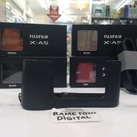 CASE FUJI LEATHER CASE FUJIFILM X-A3 WARNA HITAM BLACK ORIGINAL FUJI