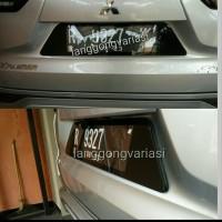 Promo Cover Plat nomor acrylic akrilik cembung Mitsubishi Xpander