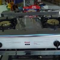 Kompor Gas Rinnai 2 Tungku RI 712 T & 40 RI-712T & 41 Good Deal
