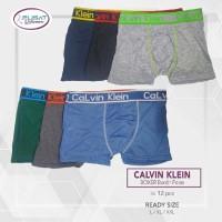 GROSIR Celana Dalam Boxer Pria Calvin Klein 154 Ban Warna DUS