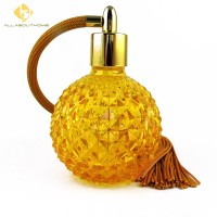 Botol Parfum Semprot Atomizer Model Vintage, Dapat Diisi Ulang