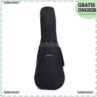 Tas Cover Softcase Pelindung Gitar Ukulele Anti Air Ukuran 21 untuk