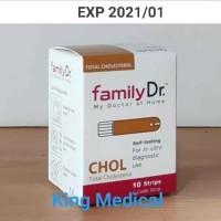 Strip FamilyDr Cholesterol/Kolesterol