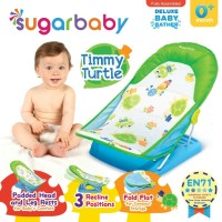 Blommie BBK SUGAR BABY DELUXE BABY BATHER TIMMY TURTLE GREEN
