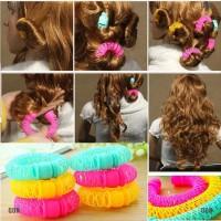 gongjing1 Hairdress Magic Bendy Hair Styling Roller Curler Spiral