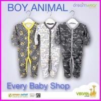 Tutup Kaki Velvet Junior Dreamwear 3 Pcs Piyama Sleepsuit Bayi Panjang