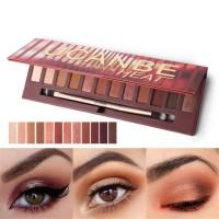 Palet Eyeshadow 16 Warna Smoky / Coklat / Merah