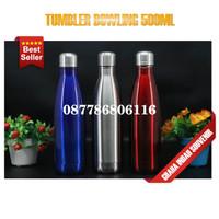 tumbler bowling polos 500ml custom botol souvenir promosi murah