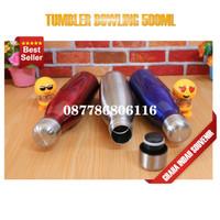 souvenir botol tumbler bowling polos promosi custom murah
