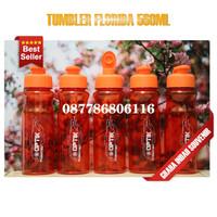 tumbler florida polos 560ml custom souvenir murah botol tumbler