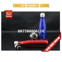 tumbler bowling polos 500ml promosi