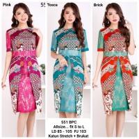 Dress Batik Premium /Dress Pesta Batik Formal